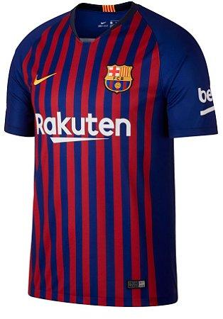 Camisa oficial Nike Barcelona 2018 2019 I jogador