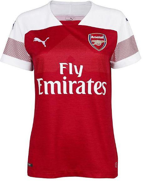 Camisa feminina oficial Puma Arsenal 2018 2019 I