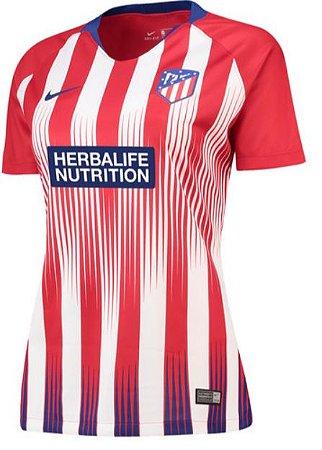 Camisa feminina oficial Nike Atletico de Madrid 2018 2019 I