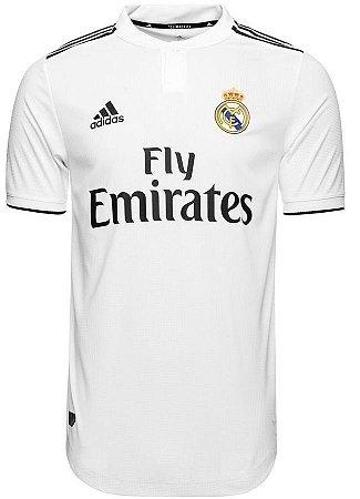 Camisa oficial Adidas Real Madrid 2018 2019 I jogador