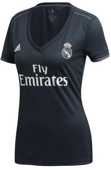 Camisa feminina oficial Adidas Real Madrid 2018 2019 II