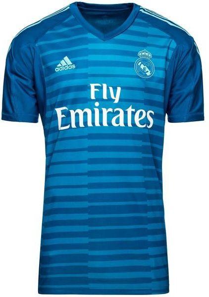 Camisa oficial Adidas Real Madrid 2018 2019 II Goleiro