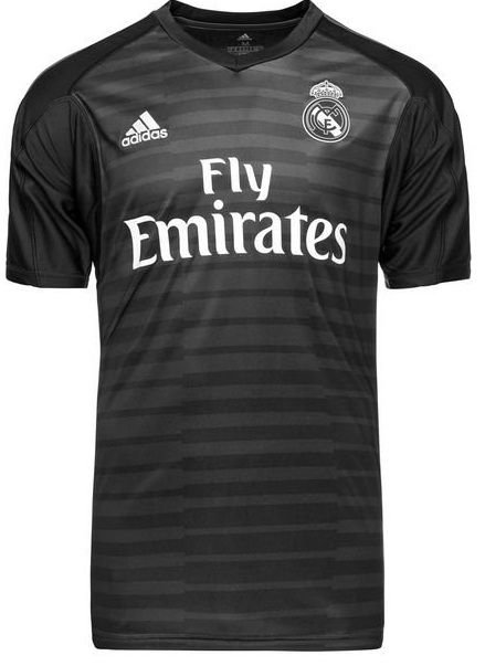 Camisa oficial Adidas Real Madrid 2018 2019 I goleiro