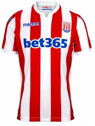 Camisa oficial Macron Stoke City 2018 2019 I jogador