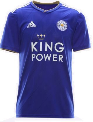 Camisa oficial Adidas Leicester City 2018 2019 I jogador