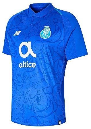 Camisa oficial New Balance Porto 2018 2019 III jogador