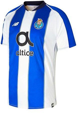 Camisa oficial New Balance Porto 2018 2019 I jogador