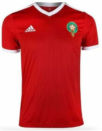 Camisa oficial Adidas Seleção do Marrocos 2018 I jogador
