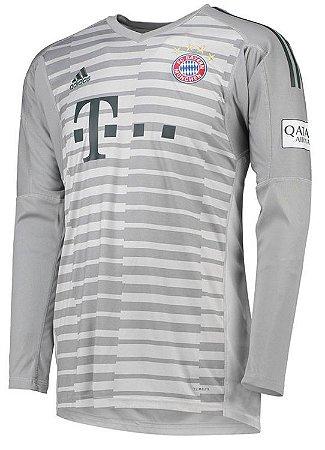 Camisa oficial Adidas Bayern de Munique 2018 2019 I goleiro manga comprida