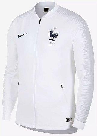 Jaqueta oficial Nike seleção da França 2018 Branca