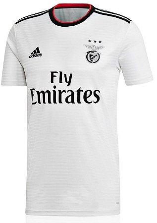 Camisa oficial Adidas Benfica 2018 2019 II jogador
