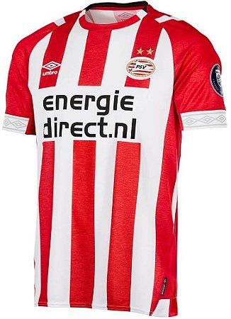 Camisa oficial Umbro PSV Eindhoven 2018 2019 I jogador