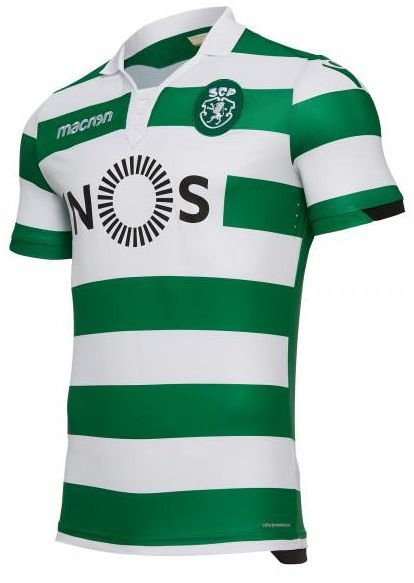 Camisa oficial Macron Sporting Lisboa 2018 2019 I jogador