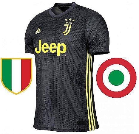 Camisa oficial Adidas Juventus 2018 2019 III jogador