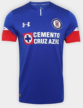 Camisa oficial Under Armour Cruz Azul 2018 2019 I jogador