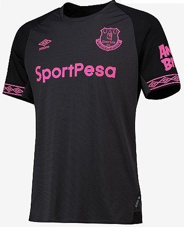 Camisa oficial Umbro Everton 2018 2019 II jogador
