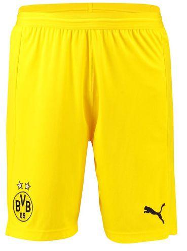 Calção oficial Puma Borussia Dortmund 2018 2019 Champions League