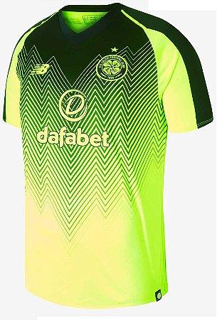 Camisa oficial New Balance Celtic 2018 2019 III jogador