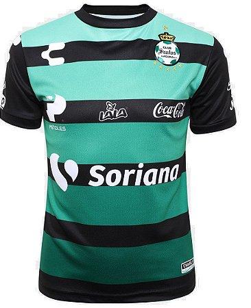 Camisa oficial Charly Santos Laguna 2018 2019 II jogador
