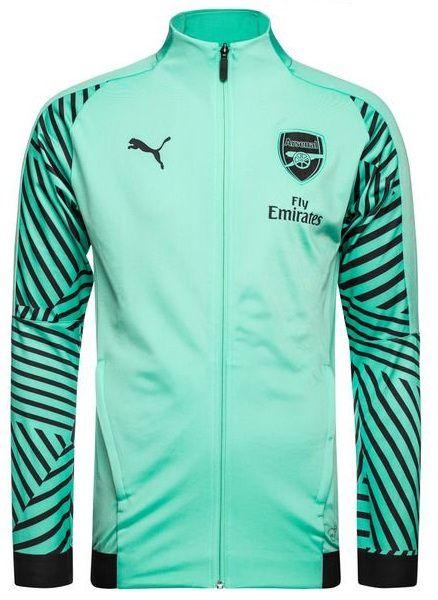 Jaqueta oficial Puma Arsenal 2018 2019 Verde