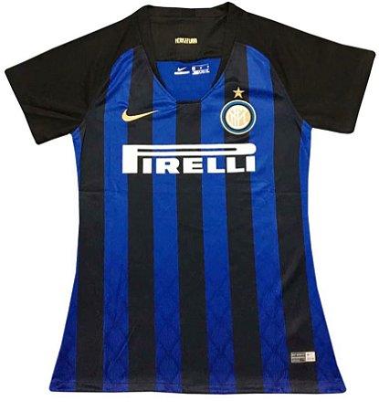 Camisa feminina oficial Nike Inter de Milão 2018 2019 I