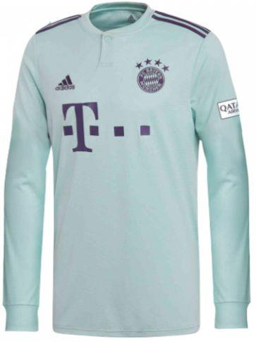 Camisa oficial Adidas Bayern de Munique 2018 2019 II jogador manga comprida