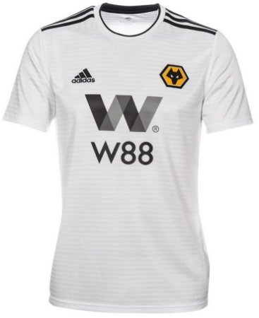 Camisa oficial Adidas Wolverhampton 2018 2019 II jogador