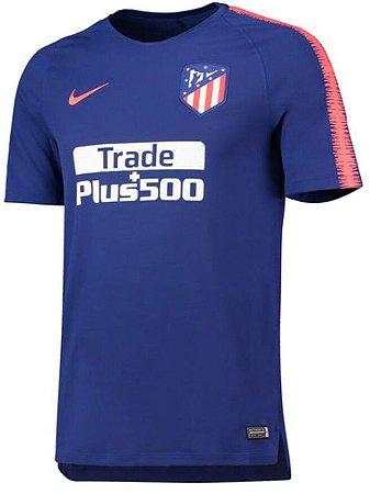 Camisa de treino oficial Nike Atletico de Madrid 2018 2019 Azul