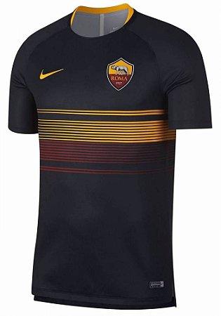 Camisa de treino oficial Nike Roma 2018 2019 Preta