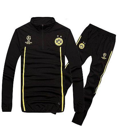Kit treinamento Champions League Borussia Dortmund 2014 2015