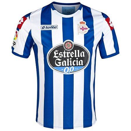 Camisa oficial Lotto Deportivo La Coruña 2014 2015