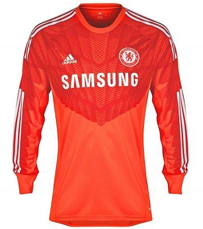 Camisa oficial Goleiro Adidas Chelsea 2014 2015