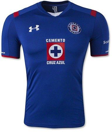 Camisa oficial Under Armour Cruz Azul 2014 2015 I jogador