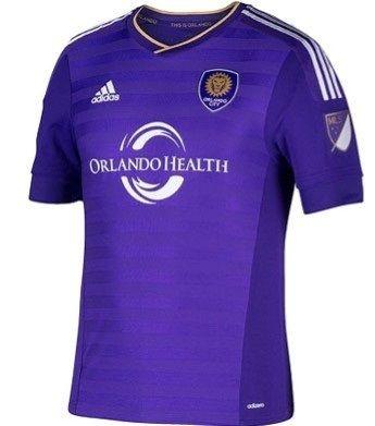 Camisa oficial Adidas Orlando City 2015 I jogador