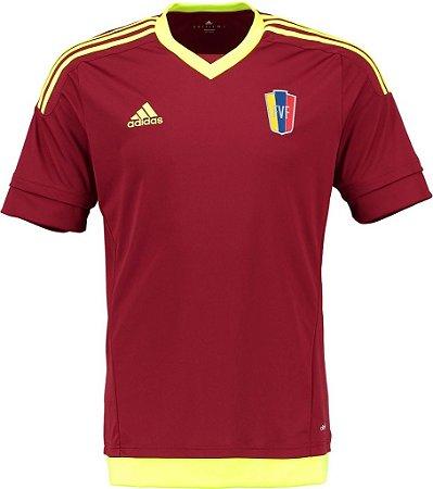 Camisa oficial Adidas Venezuela 2015 I jogador Copa América