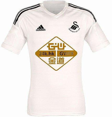 Camisa oficial Adidas Swansea City 2014 2015 I jogador