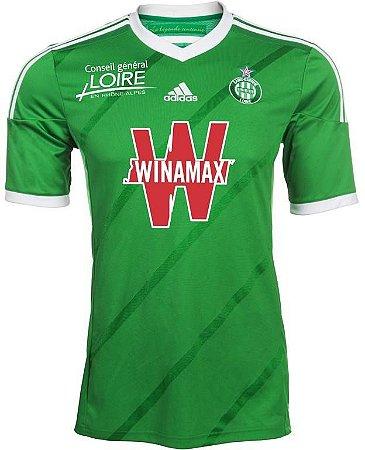 Camisa oficial Adidas Saint Etienne 2014 2015 I jogador