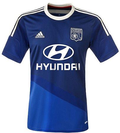Camisa oficial Adidas Lyon 2014 2015 II jogador