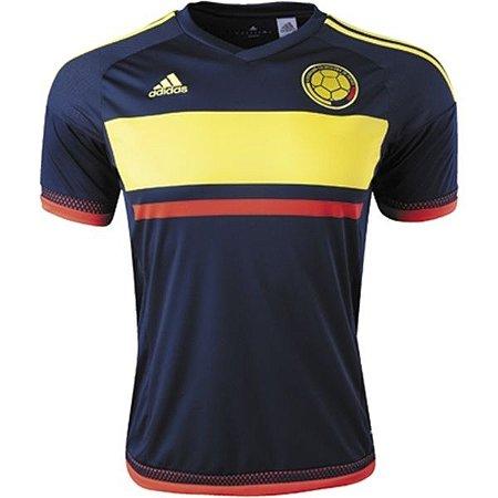 Camisa oficial Adidas Colombia 2015 II jogador Copa América