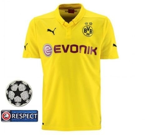 Camisa oficial Puma Borussia Dortmund 2014 2015 Champions League