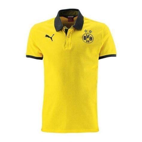 Camisa oficial Puma Polo Borussia Dortmund 2014 2015