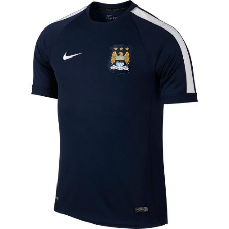 Camisa oficial treino Nike Manchester City 2014 2015