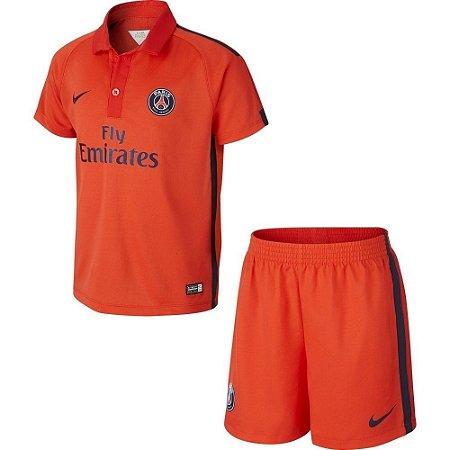 Kit oficial infantil Nike PSG 2014 2015 III jogador