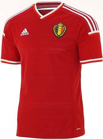 Camisa oficial Adidas seleção da Bélgica 2015 I jogador