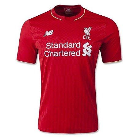 Camisa oficial New Balance Liverpool 2015 2016 I jogador