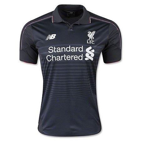 Camisa oficial New Balance Liverpool 2015 2016 III jogador
