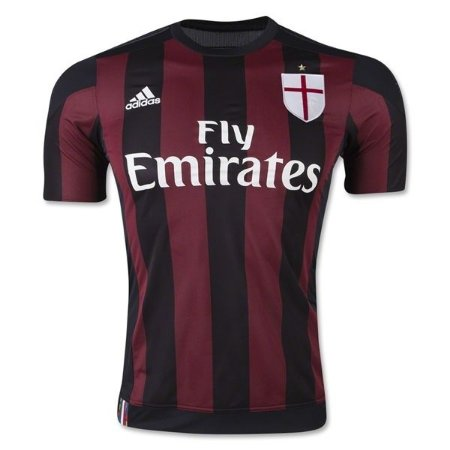 Camisa oficial Adidas Milan 2015 2016 I jogador