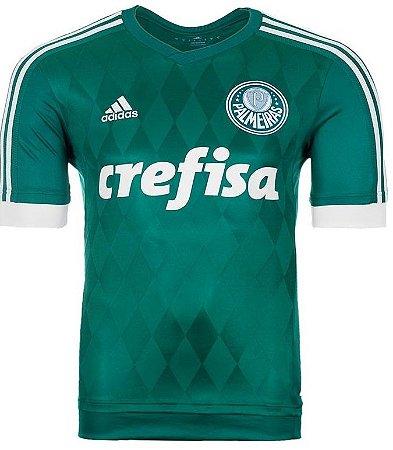Camisa oficial Adidas Palmeiras 2015 I jogador