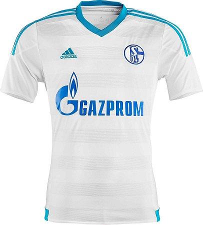 Camisa oficial Adidas Schalke 04 2015 2016 II Jogador