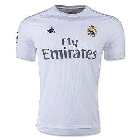 Camisa oficial Adidas Real Madrid 2015 2016 I jogador